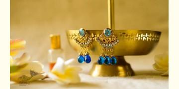 श्रीरूपा    Silver Earring   Neelam~ 40