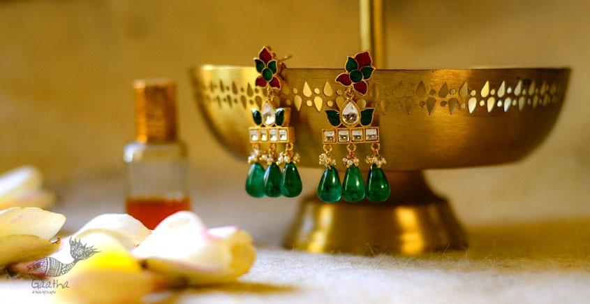 श्रीरूपा    Silver Earring   Nirmal ~ 13