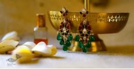 श्रीरूपा  | Silver Earring | Peacock Motifs ~ 18
