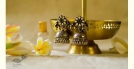 श्रीरूपा  | Silver Earring | Phulvati ~ 46