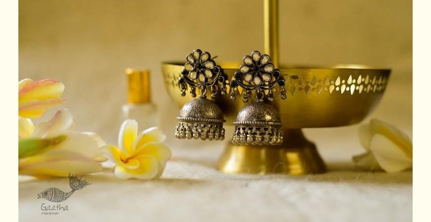श्रीरूपा    Silver Earring   Phulvati ~ 46
