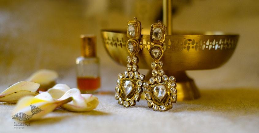 श्रीरूपा  | Silver Earring | Queens Earrings ~ 30