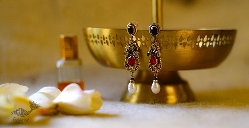 श्रीरूपा  | Silver Earring | Rangeen ~ 8