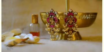 श्रीरूपा    Silver Earring   Rasiya ~ 35