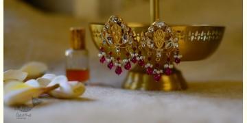 श्रीरूपा    Silver Earring   Shanti ~ 32
