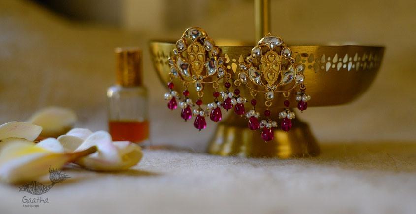 श्रीरूपा  | Silver Earring | Shanti ~ 32