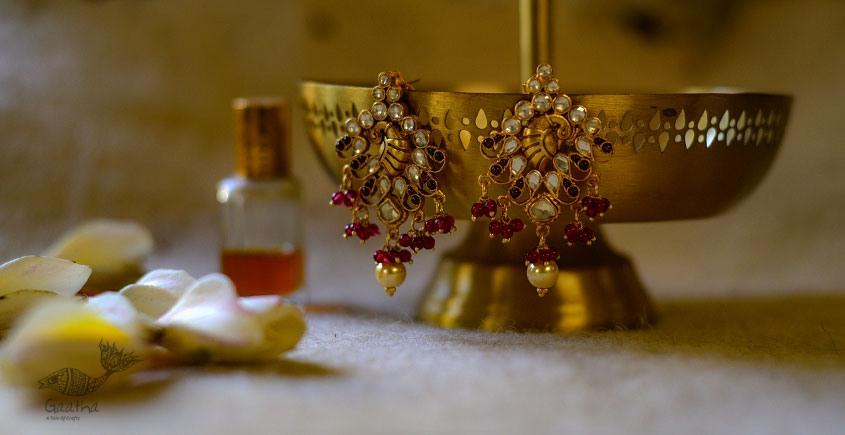 श्रीरूपा  | Silver Earring | Sharmila ~ 24