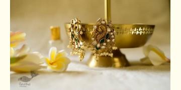 श्रीरूपा    Silver Earring   Sheekha ~ 43
