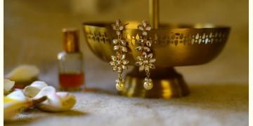 श्रीरूपा  | Silver Earring | Kundan Drops ~ 31