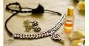 handmade kundan earring design