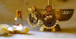 श्रीरूपा  | Silver Earring | Victorian Studs ~ 7