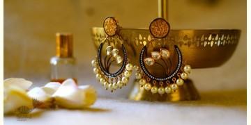 श्रीरूपा    Silver Earring   Victorian Studs ~ 7