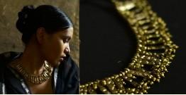 Arundhati . अरुंधती ✺ Brass Dhokra Necklace ✺ 10