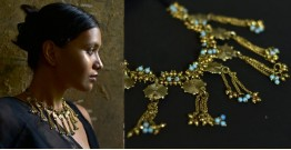 Arundhati . अरुंधती ✺ Brass Dhokra Necklace ✺ 11