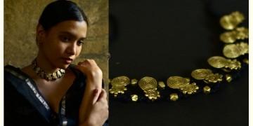 Arundhati . अरुंधती ✺ Brass Dhokra Necklace ✺ 12