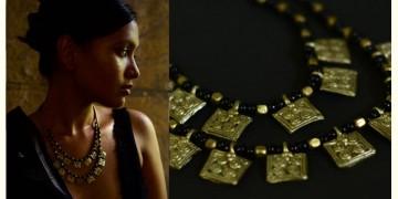 Arundhati . अरुंधती ✺ Brass Dhokra Necklace ✺ 2