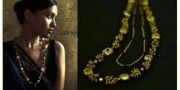 Arundhati . अरुंधती ✺ Brass Dhokra Necklace ✺ 4