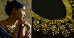Arundhati . अरुंधती ✺ Brass Dhokra Necklace ✺ 5