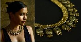 Arundhati . अरुंधती ✺ Brass Dhokra Necklace ✺ 6