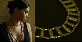 Arundhati . अरुंधती ✺ Brass Dhokra Necklace ✺ 7