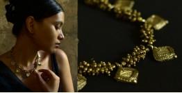 Arundhati . अरुंधती ✺ Brass Dhokra Necklace ✺ 9