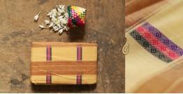 मलय ✽ Handloom Cotton Zari Saree With Buti ✽ 10