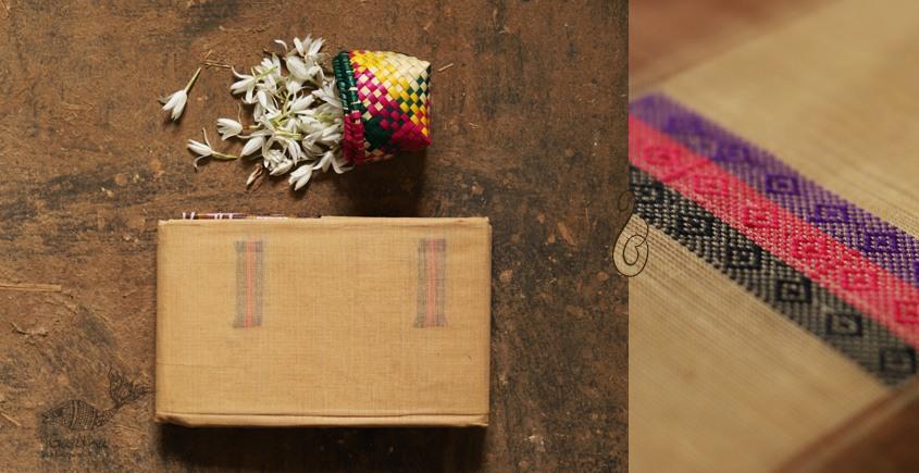 मलय ✽ Handloom Cotton Zari Saree With Buti ✽ 14