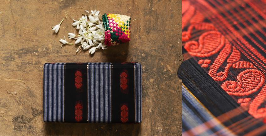 मलय ✽ Handloom Cotton Zari Saree With Buti ✽ 16