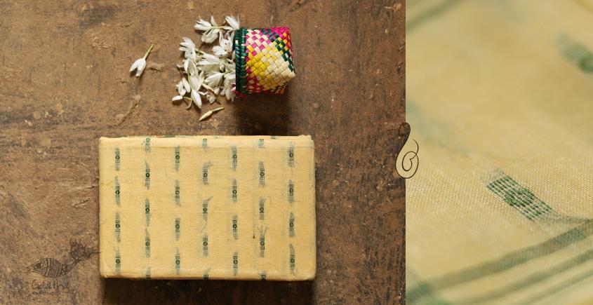 मलय ✽ Handloom Cotton Zari Saree With Buti ✽ 3