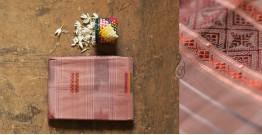 मलय ✽ Handloom Cotton Zari Saree With Buti ✽ 4