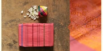 मलय ✽ Handloom Cotton Zari Saree With Buti ✽ 9