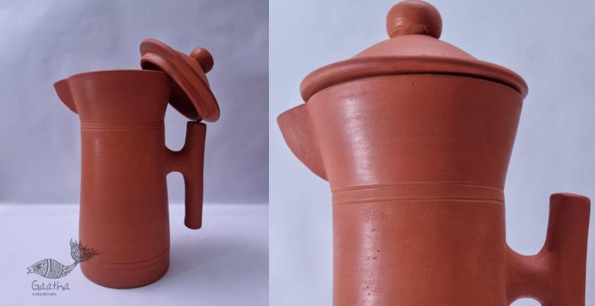 Terracotta Handmade Kitchenware- Designer Jug
