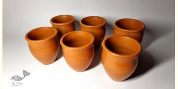 Mittihub ☢ Terracotta ☢ Kulhad (Set of 6)