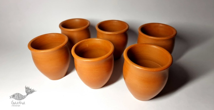 Terracotta Handmade Kitchenware- Kulhad (Set of 6)