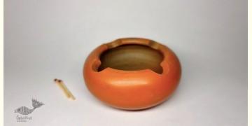 Mittihub ☢ Terracotta ☢ Ash Tray Round