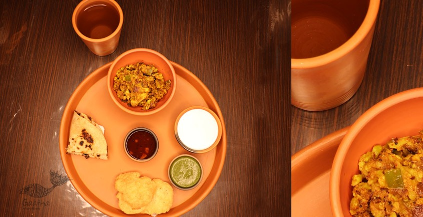 Terracotta Handmade Kitchenware- Dinner-Set