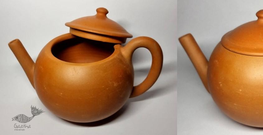 Terracotta Handmade Kitchenware- Round Kettle