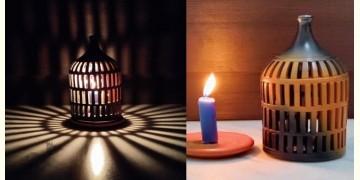 Mittihub ☢ Terracotta ☢ Tea Light Symmetrical