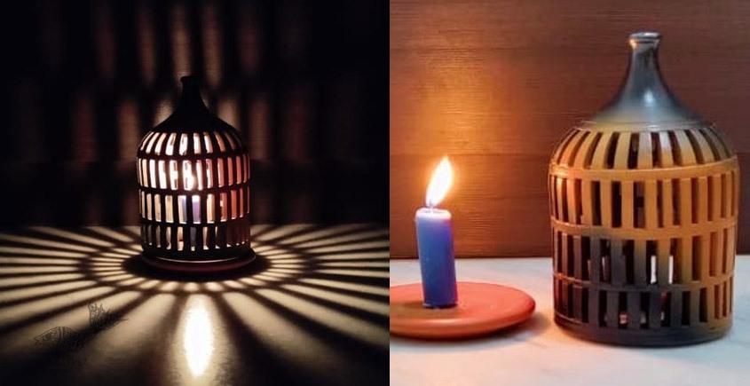 Terracotta Handmade Kitchenware- Tea Light Symmetrical