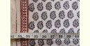 shop online bagh printed Cotton Kurta Fabric - Keri motif block print