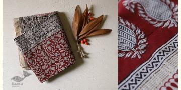 Chinmayi * Bagh Printed . Maheshwari Saree * 1