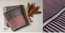 shop online Bagh Block printed cotton maheshwari saree with zari border with stripe Pallu