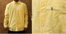 रंगरेज / Rangrez ❂ Block Printed . Fine Cotton Shirt  (Full Sleeve )❂ 16