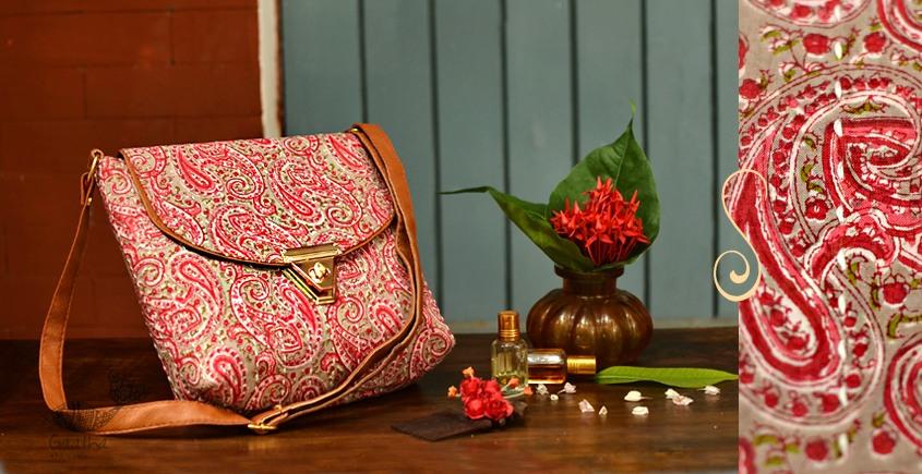 Blooming Dales ~ Block print ~ Purses & Handbags ~ { 1 }