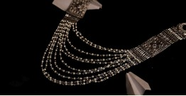 रेवती  ✽ Queen's Necklace with Pearls ✽ Necklace ✽ 12