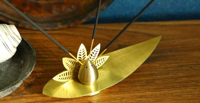 shop online brass agarbatti holder