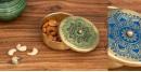 shop online Brass Masaladan in Blue & Green color