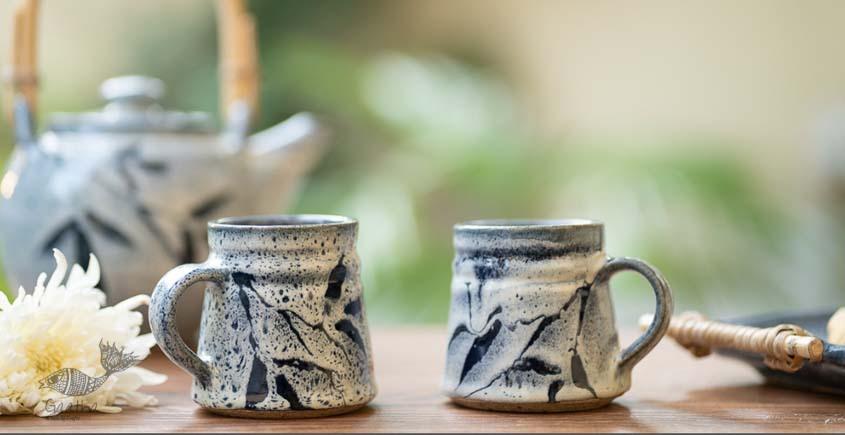 Light Blue Mugs - Set of 2