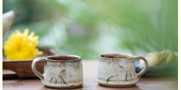 Nakshikathaa ✠ Light Brown Cups - Set of 2