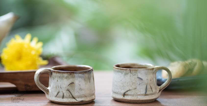 Light Brown Cups - Set of 2